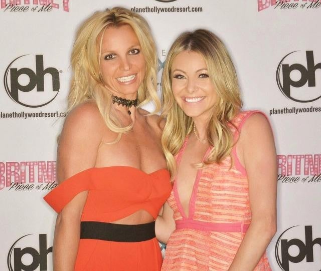 Britney Spears and Katie Krause