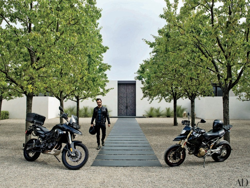 Justin Theroux home Architectural Digest