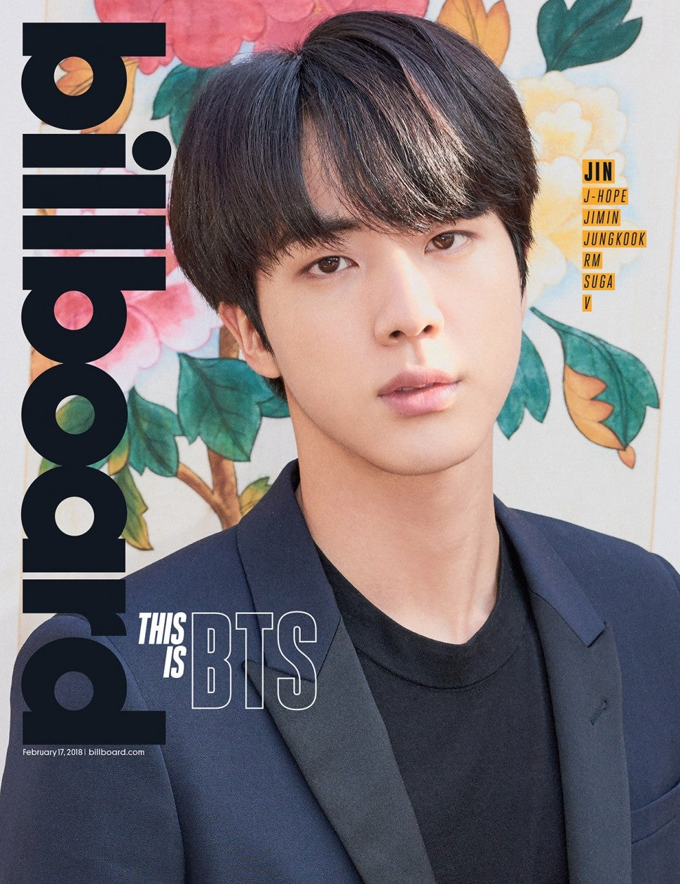 bts jin billboard