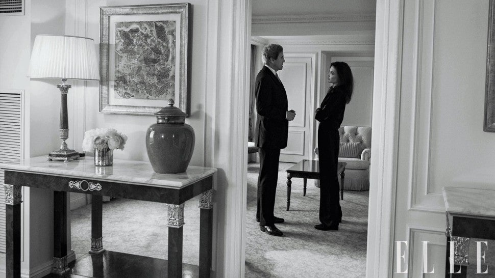 Angelina Jolie and John Kerry