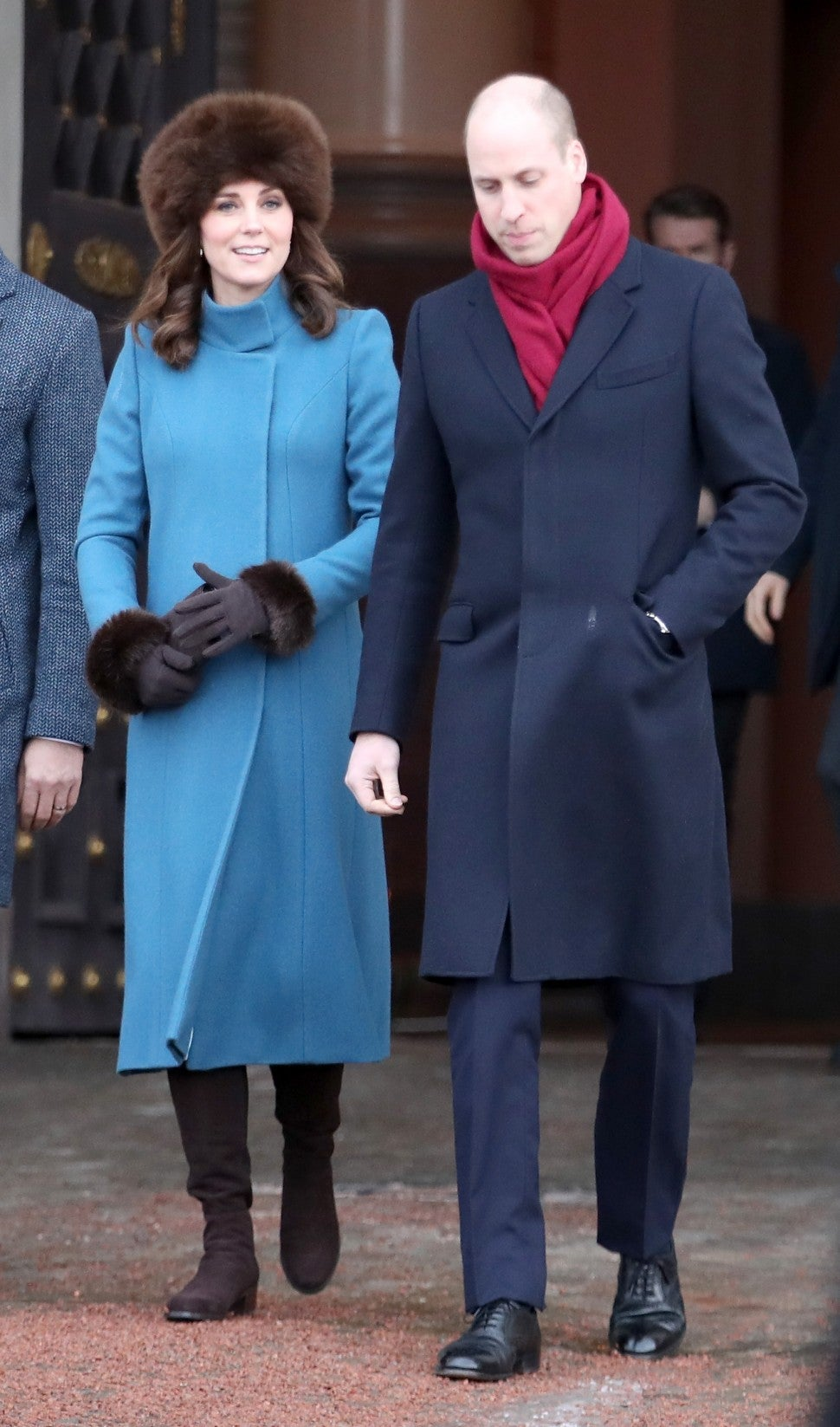 Kate Middleton and Prince William Norway
