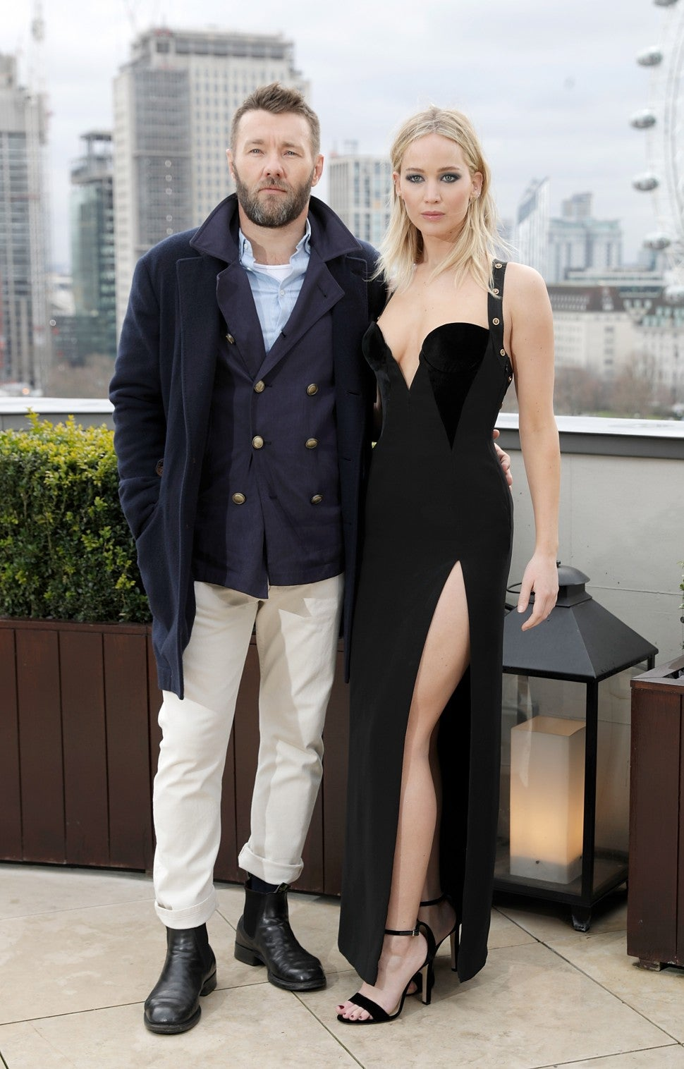 Joel Edgerton Jennifer Lawrence London