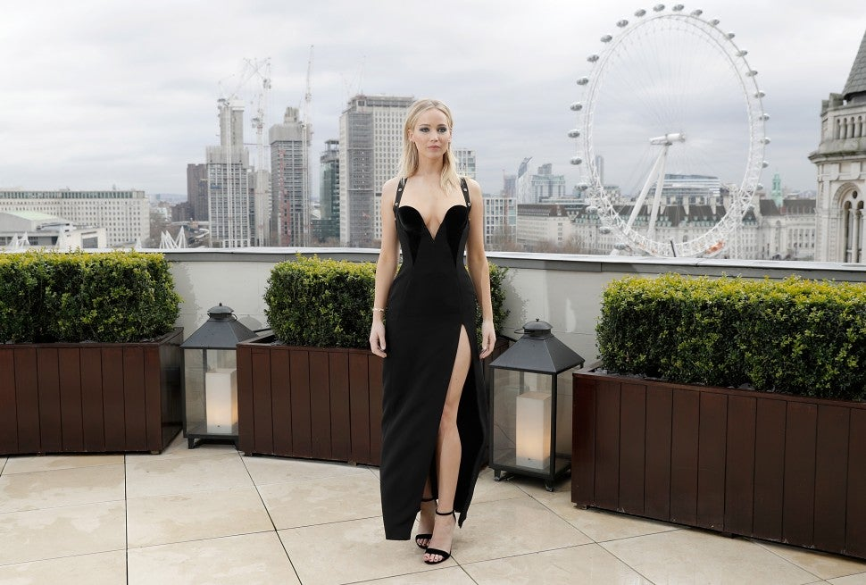 Jennifer Lawrence London