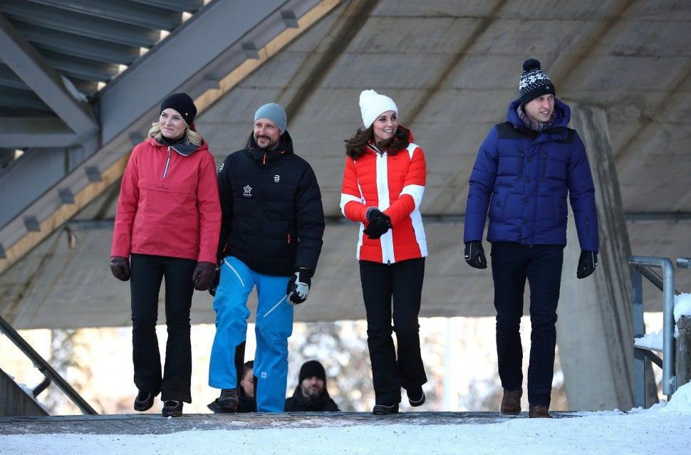 Kate Middleton Prince William in Norway