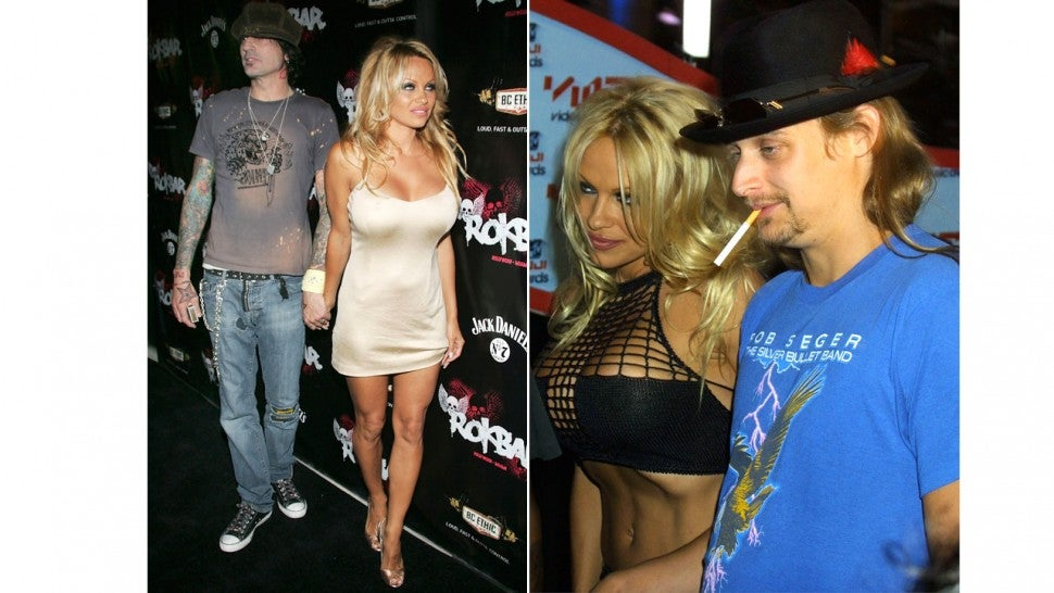 Pamela Anderson Kid Rock Tommy Lee
