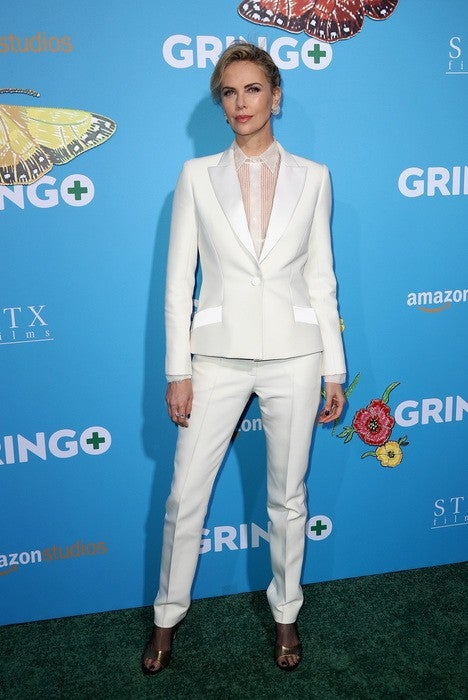 Producer Charlize Theron attends the world premiere of 'Gringo' from Amazon Studios and STX Films at Regal LA Live Stadium 14 on March 6, 2018 in Los Angeles, California