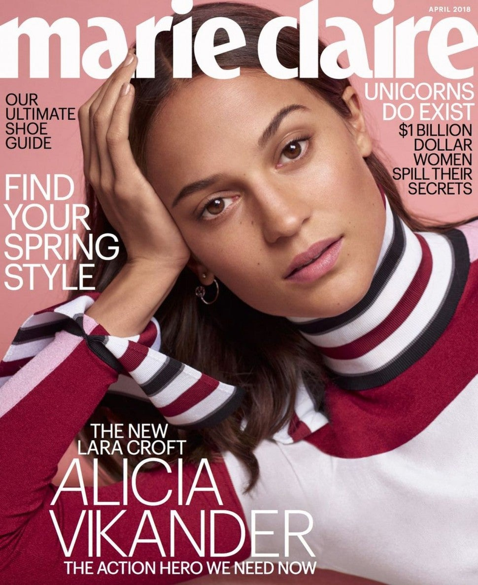 Alicia Vikander Says She Wants To Show Young Women That It S Cool