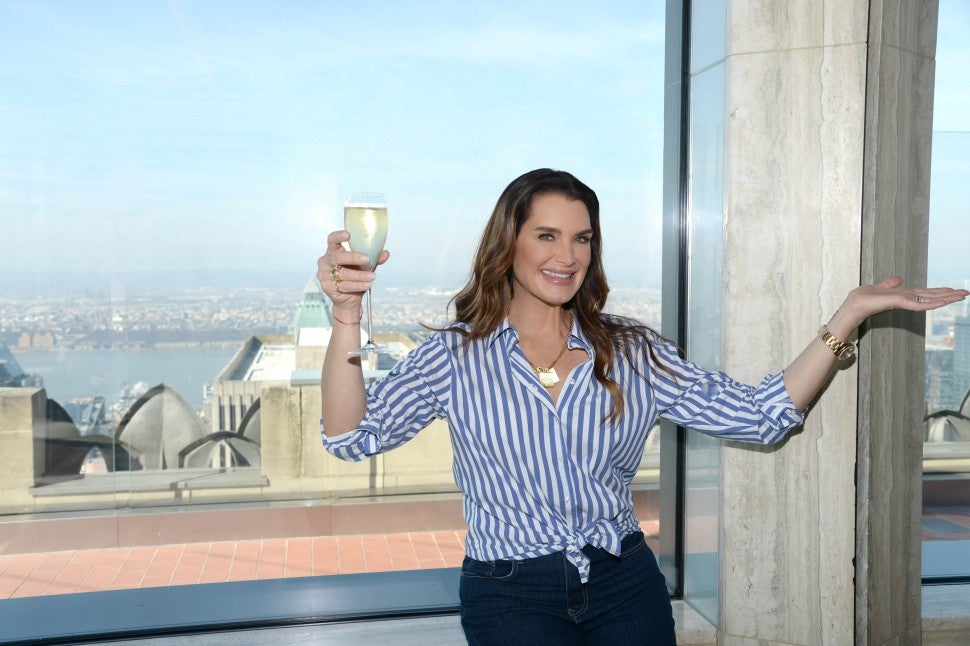 Brooke Shields at BarSixtyFive