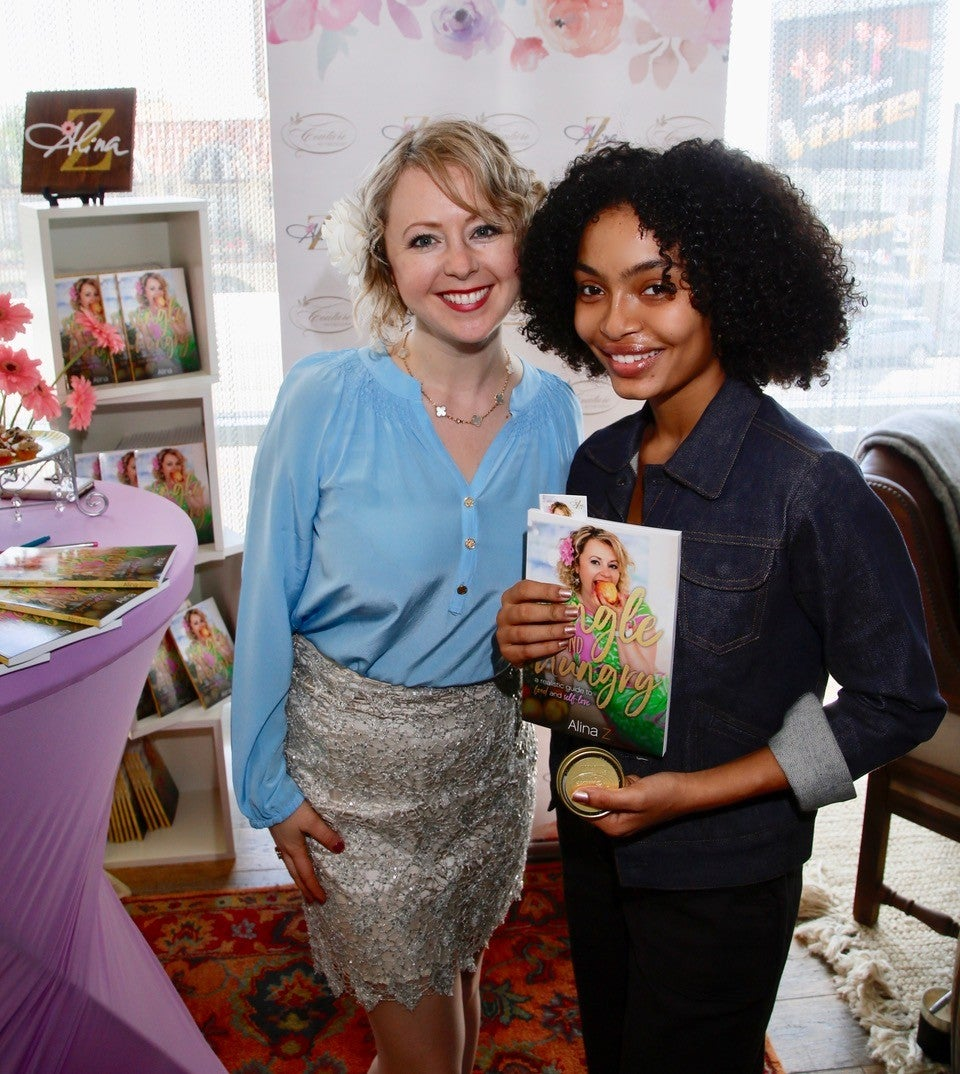Yara Shahidi and Chef Aline Z