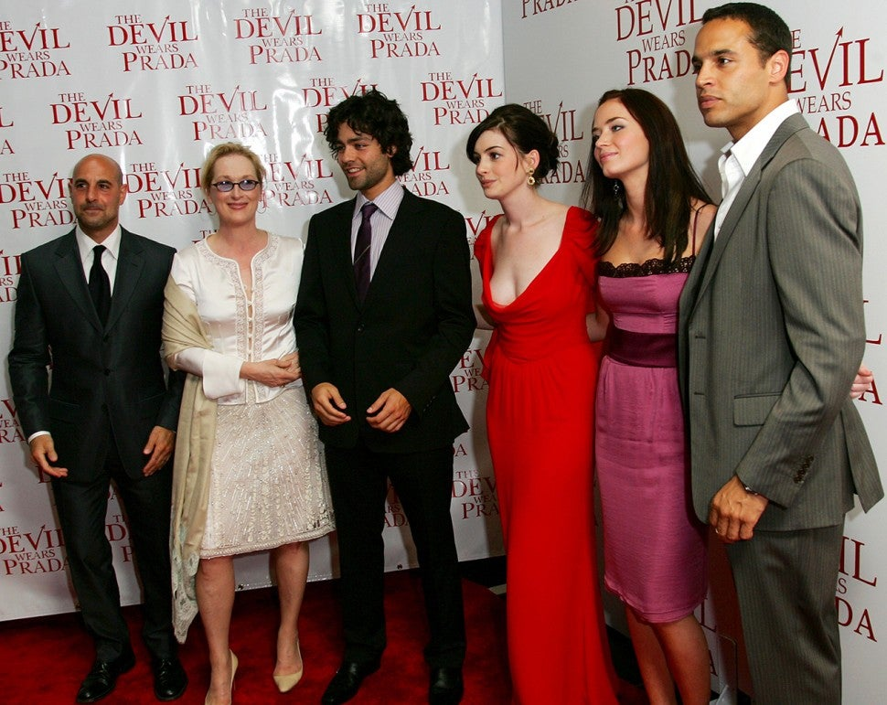 'Devil Wears Prada' cast