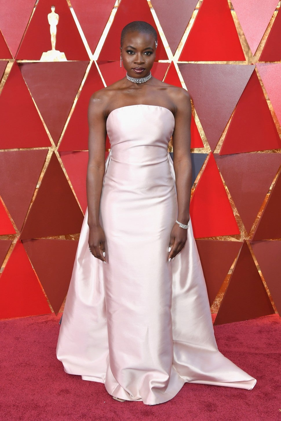 Danai Gurira at 2018 oscars