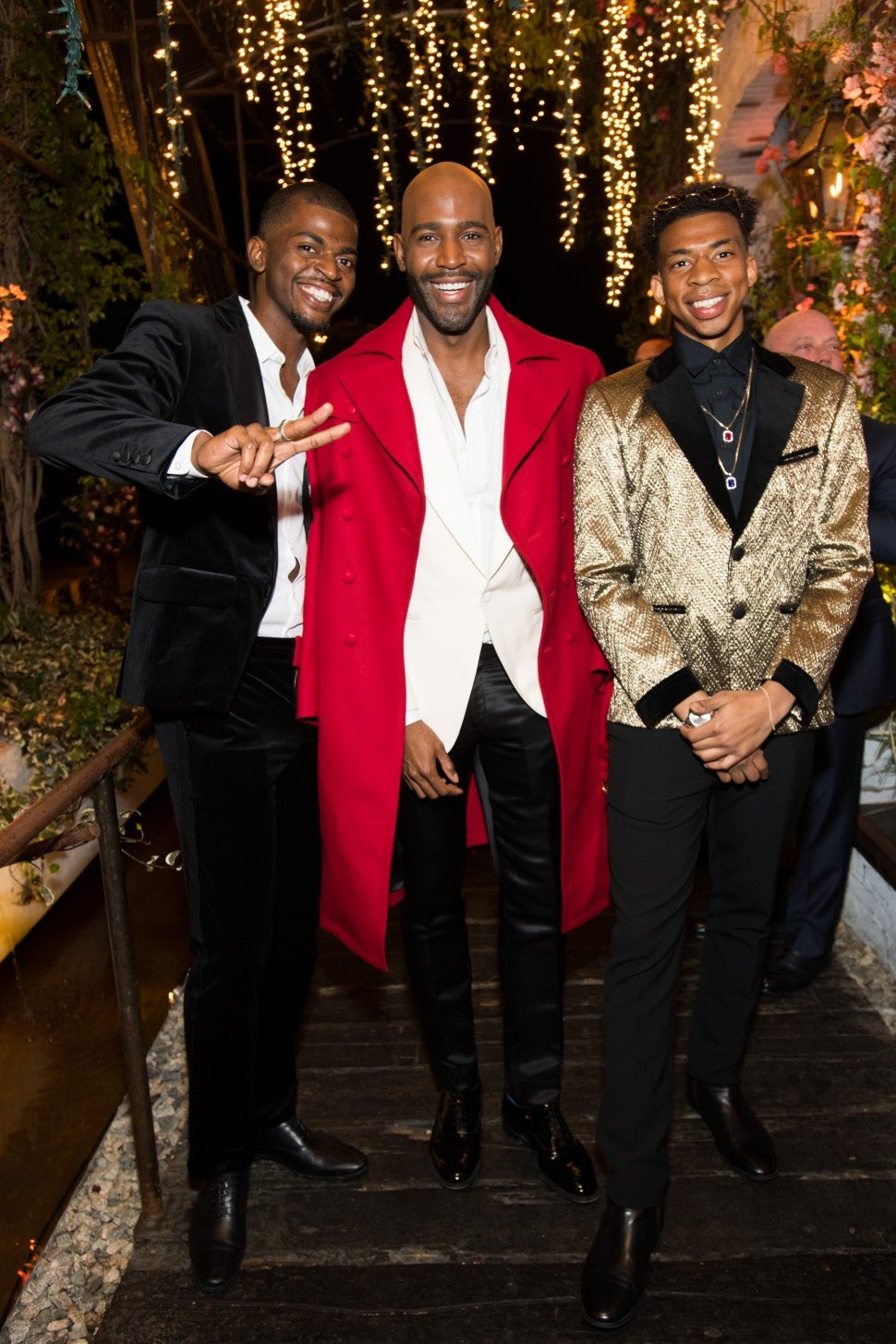 Karamo Brown and Sons