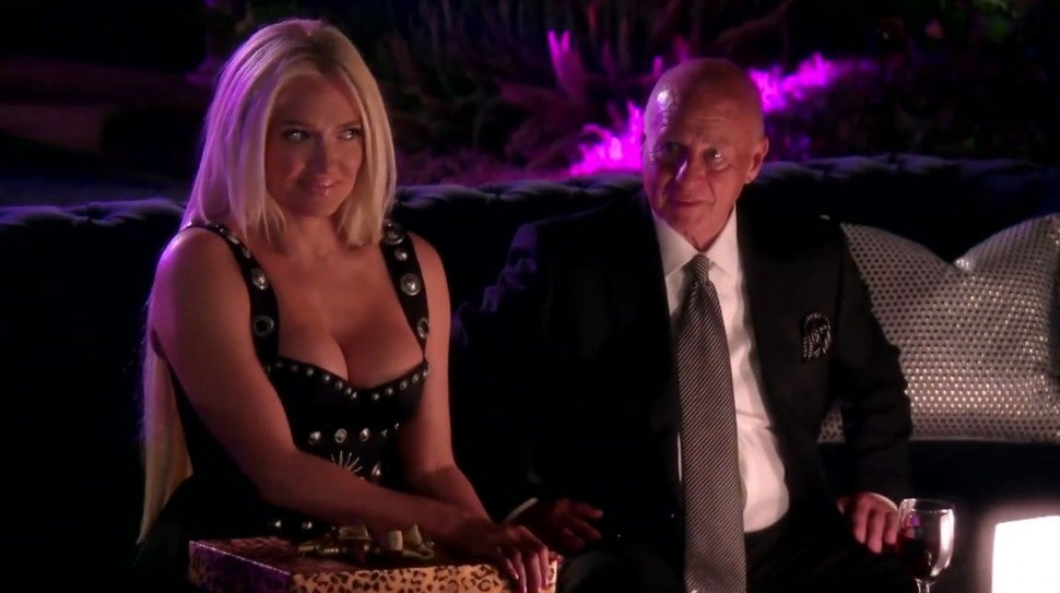 Erika and Tom Girardi on 'The Real Housewives of Beverly Hills.'