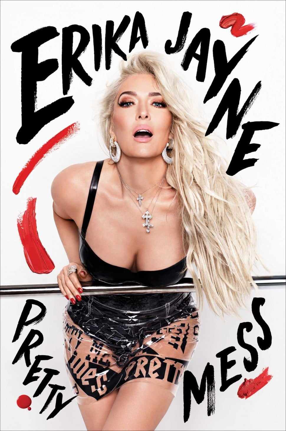 Erika Jayne's 'Pretty Mess' book cover.