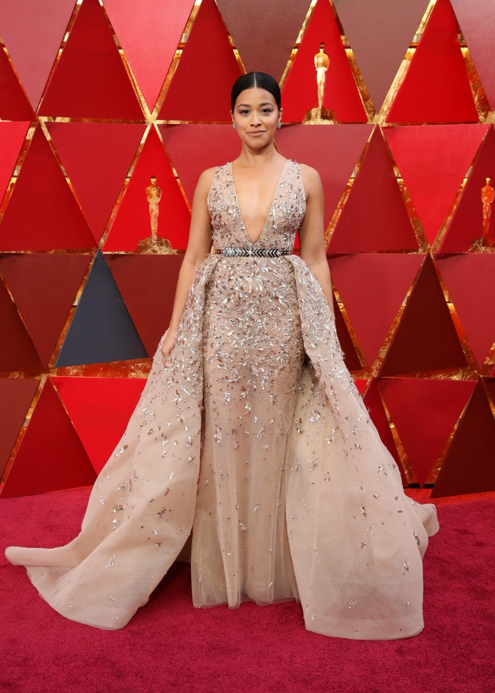 Gina Rodriguez at 2018 Oscars