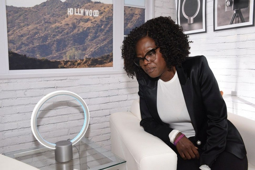 Viola Davis at preoscars party