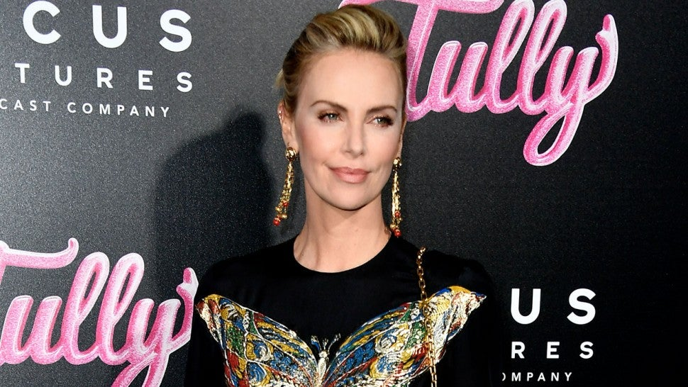 Charlize Theron at Tully premiere