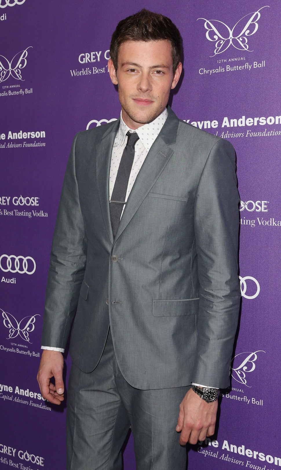 Cory Monteith at 12th Annual Chrysalis Butterfly Ball