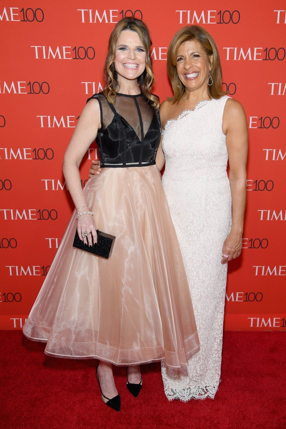 Savannah Guthrie and Hoda Kotb