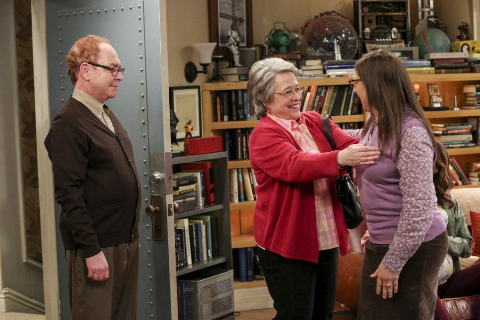 The Big Bang Theory Kathy Bates