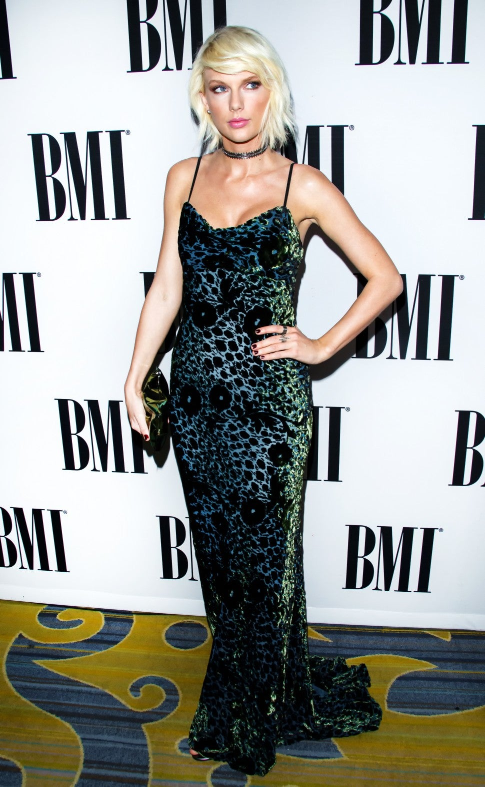 Taylor Swift at BMI Pop Awards 2016