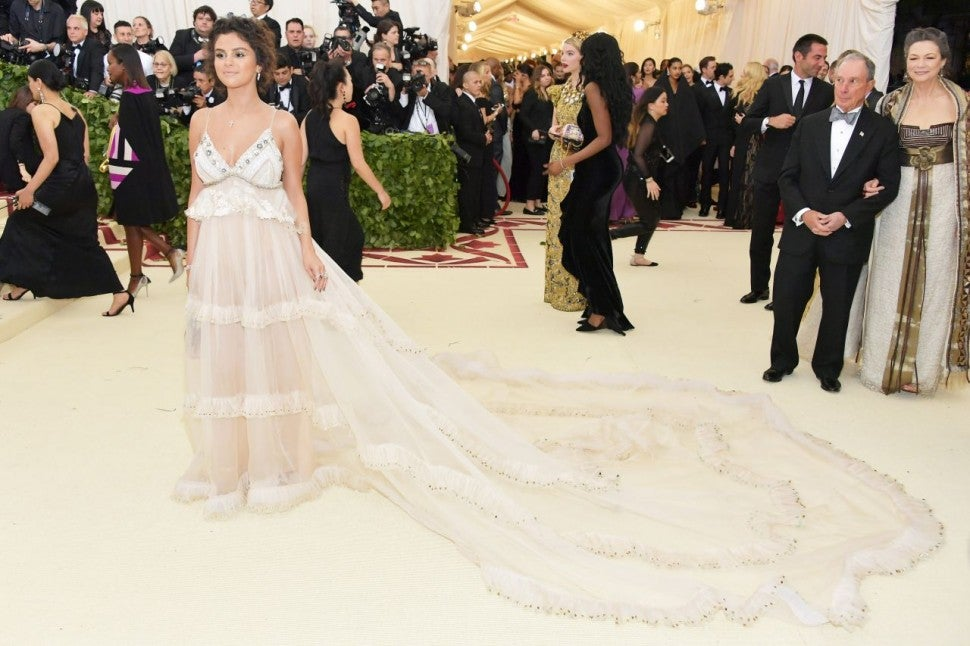 Selena Gomez at 2018 Met Gala