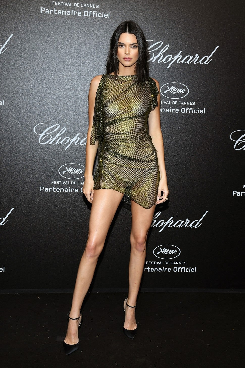 Kendall Jenner at Chopard Secret Night at Cannes