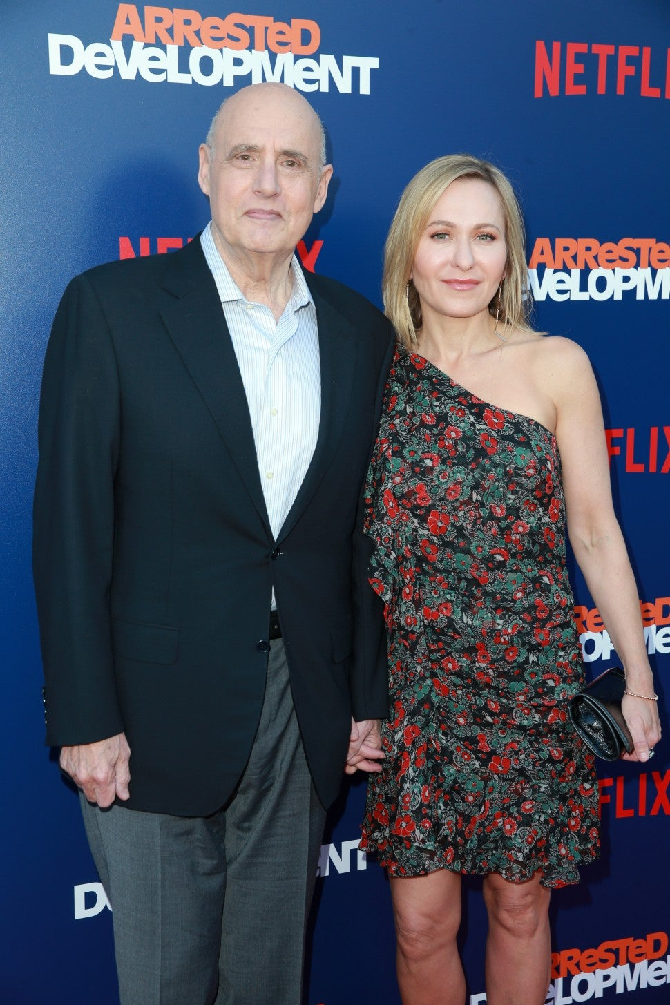 Jeffrey Tambor and wife Arrested Development Season 5 premiere