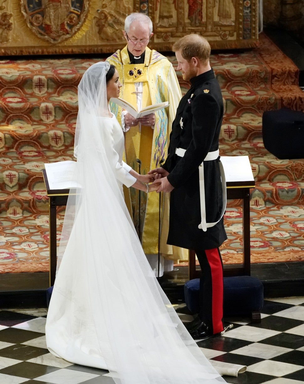 Meghan and Harry say their vows