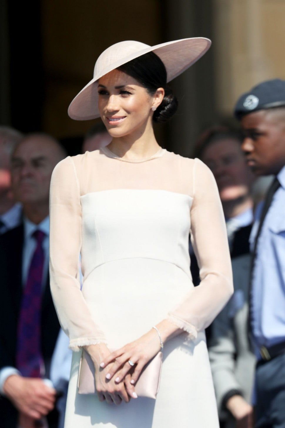 Meghan Markle at Garden Party