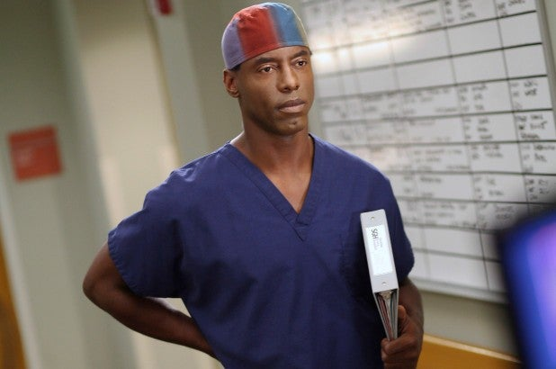 Greys - Isaiah Washington