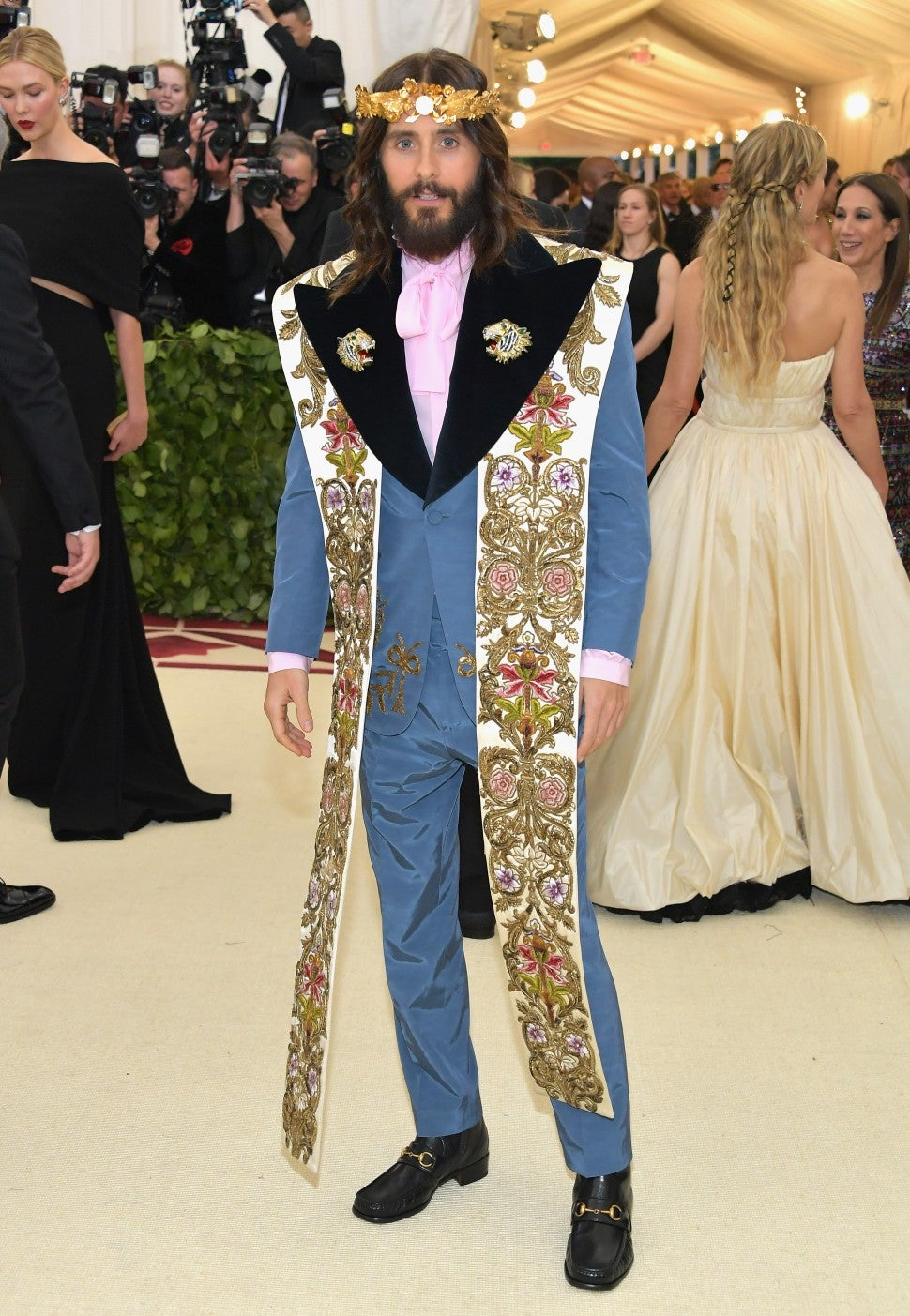 Jared Leto at the 2018 Met Gala in New York