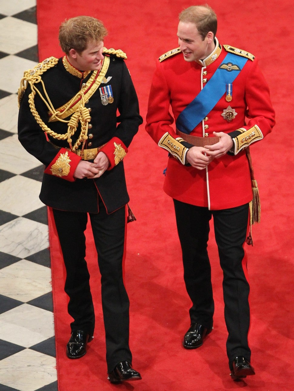 Prince Harry at Prince William's Wedding