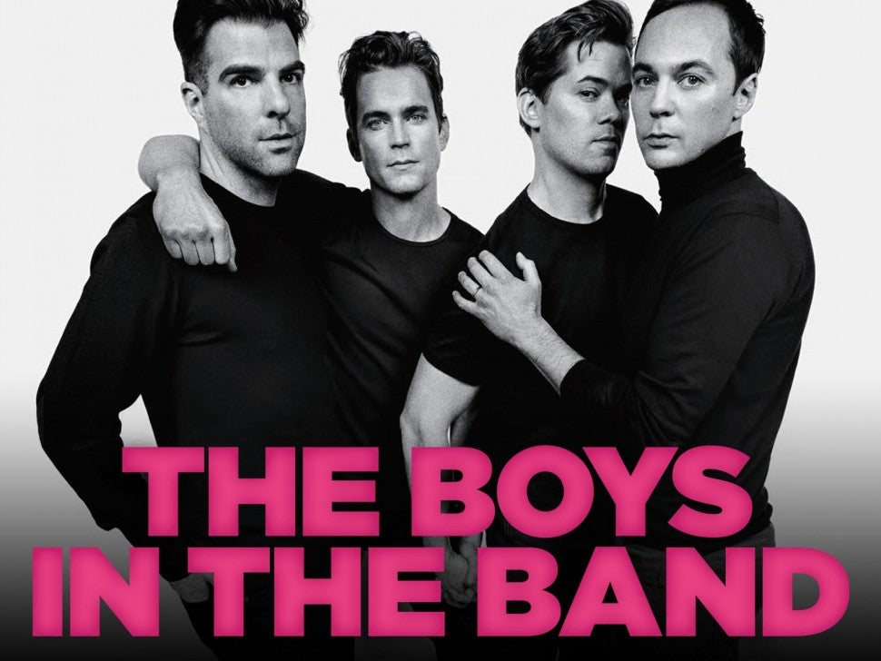 The Boys in the Band, Zachary Quinto, Matt Bomer, Andrew Rannells