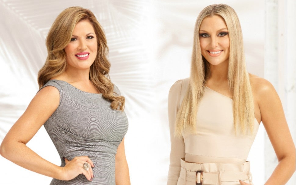 'Real Housewives of Orange County's' newest cast members, Emily Simpson and Gina Kirschenheiter.