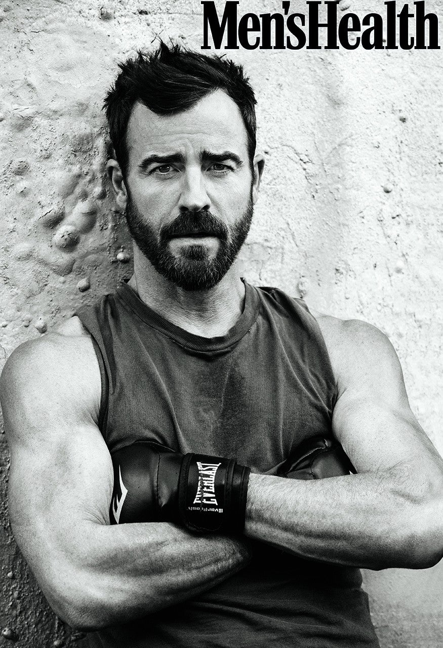 Justin Theroux in 'Men's Health'