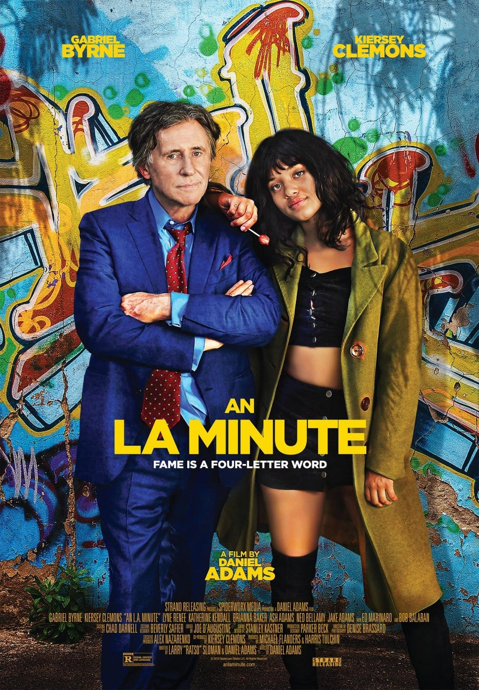 An L.A. Minute Artwork, Kiersey Clemons