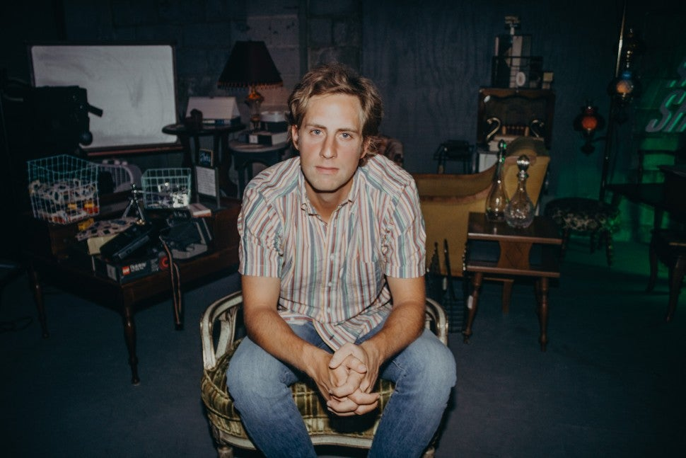 Ben Rector at spotify event in nashville
