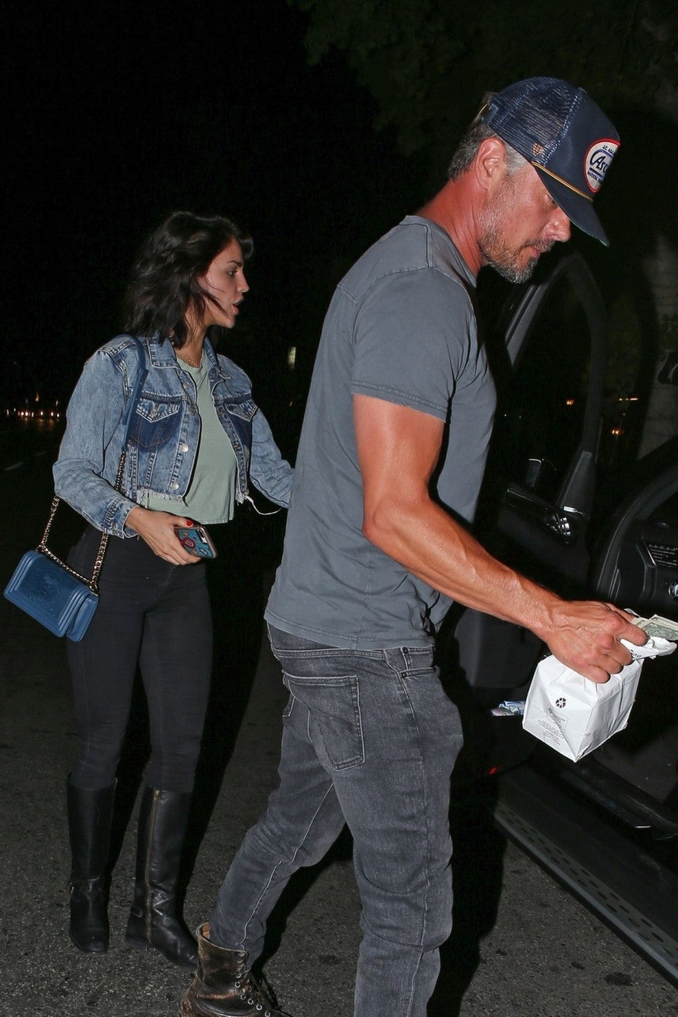 Josh Duhamel goes on a second date with Eiza Gonzalez
