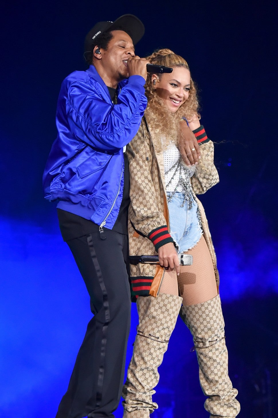 Jay-Z and Beyonce kick of On the Run II Tour