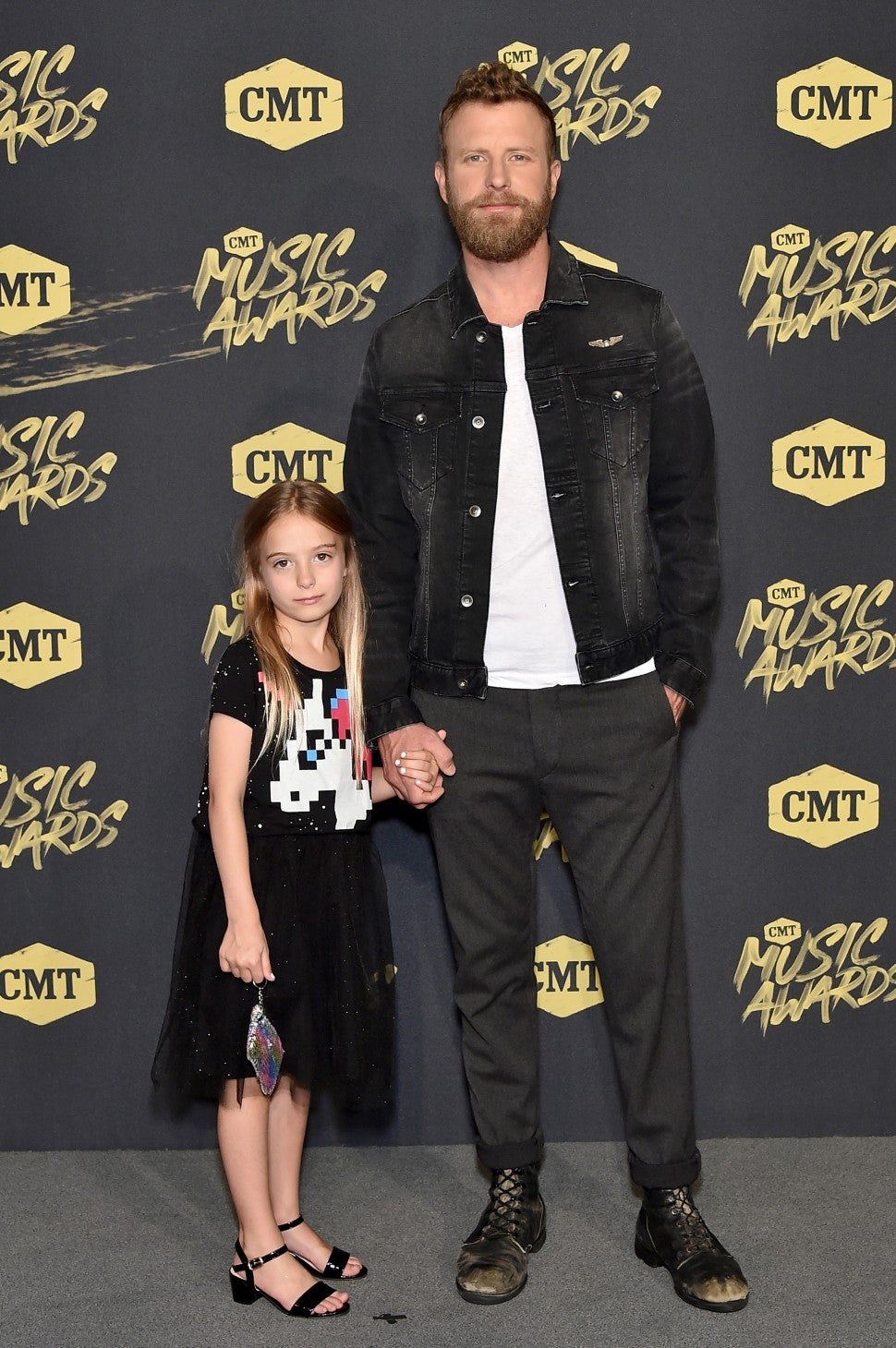 Dierks Bentley and daughter Jordan at 2018 cmt music awards