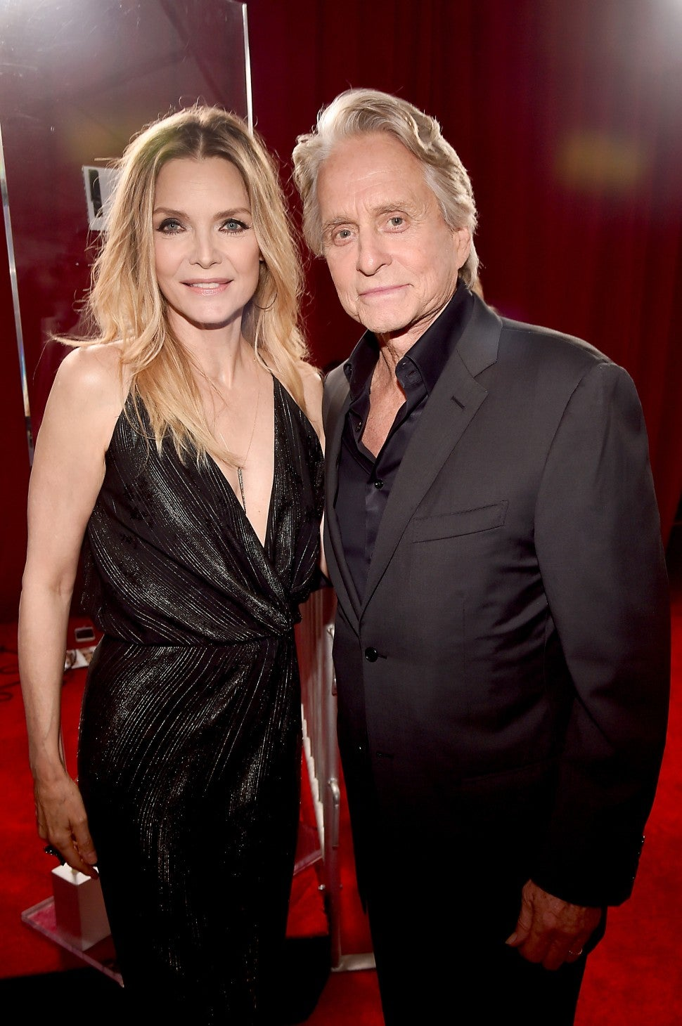 Michelle Pfeiffer and Michael Douglas at Ant-Man and the Wasp premiere