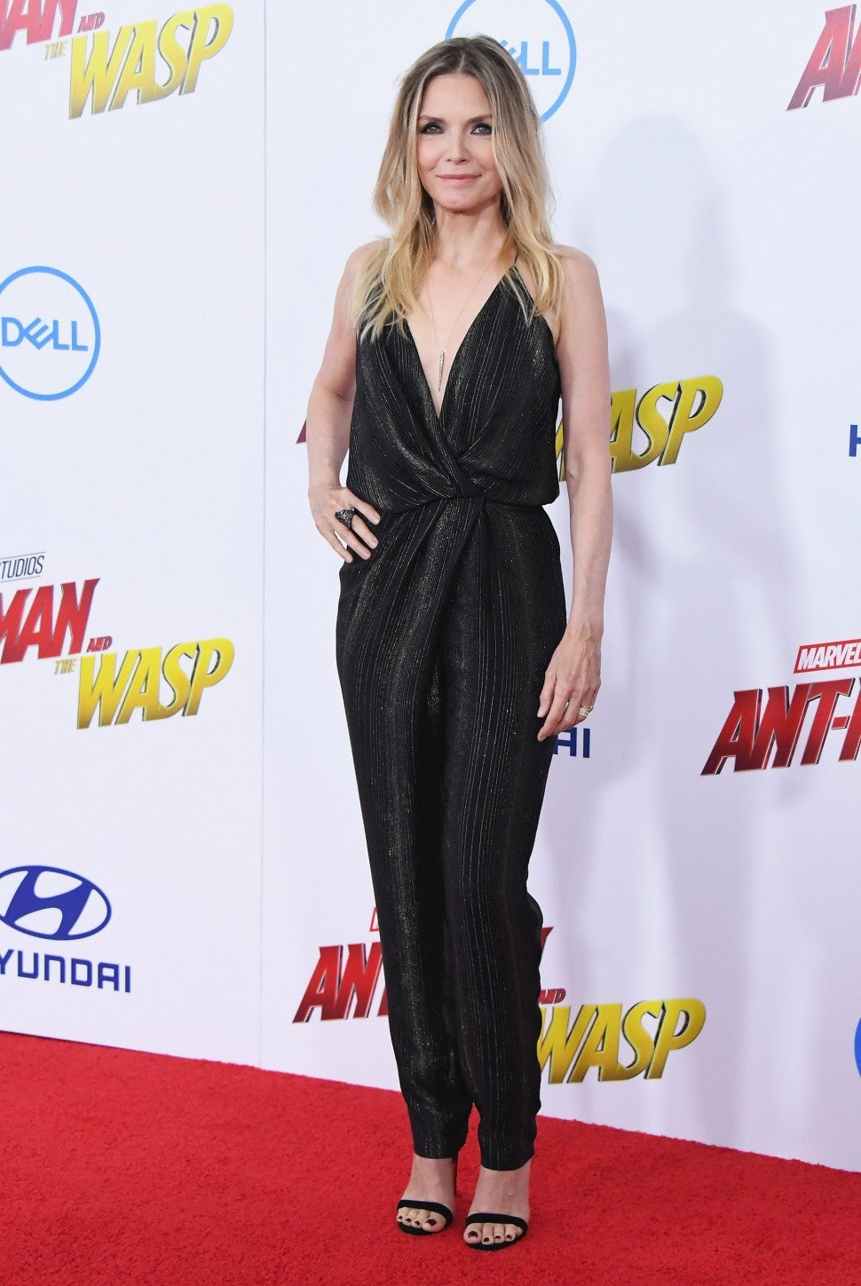 Michelle Pfeiffer at Ant-Man and the Wasp premiere