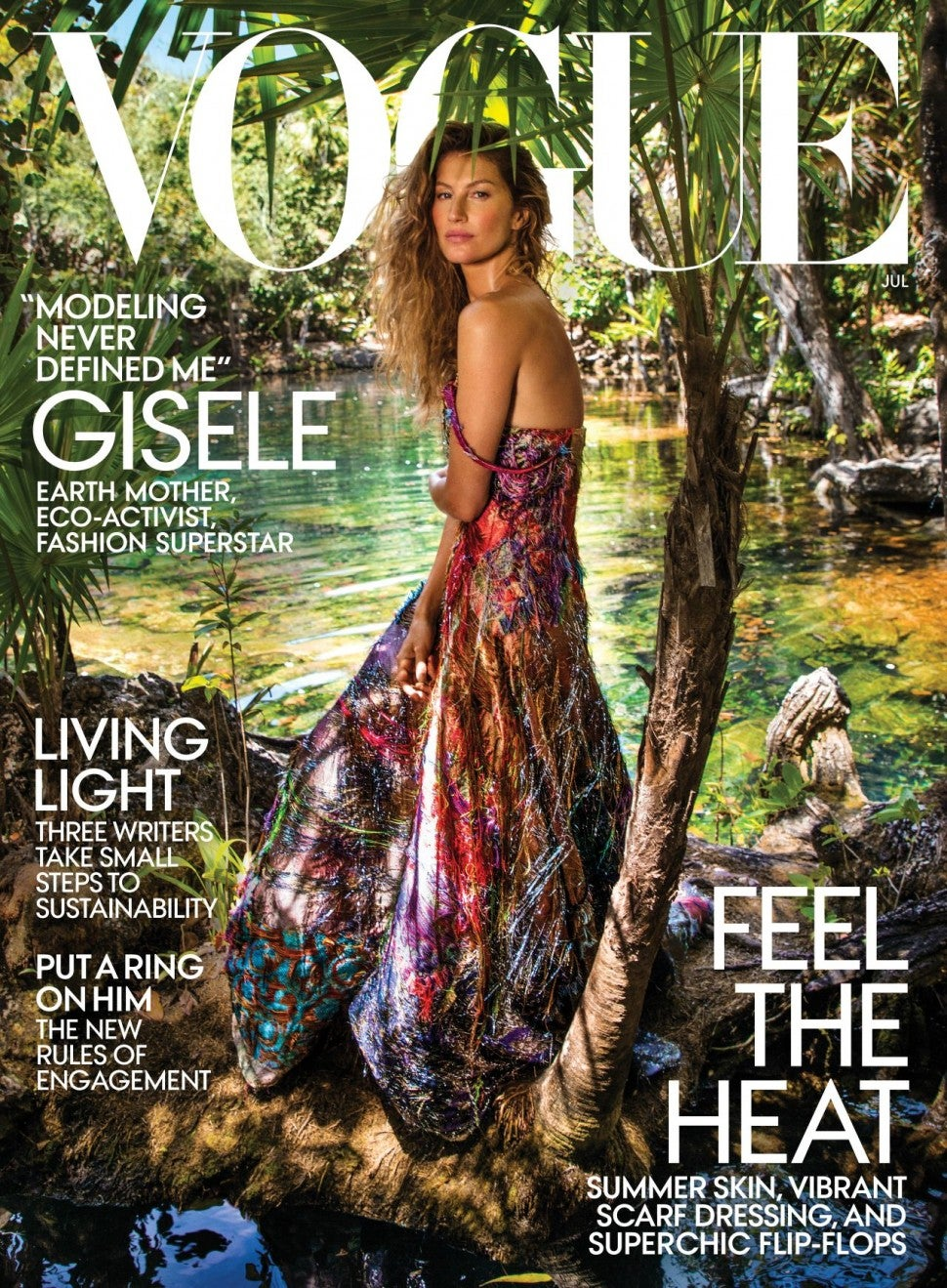 Gisele Bundchen in Vogue