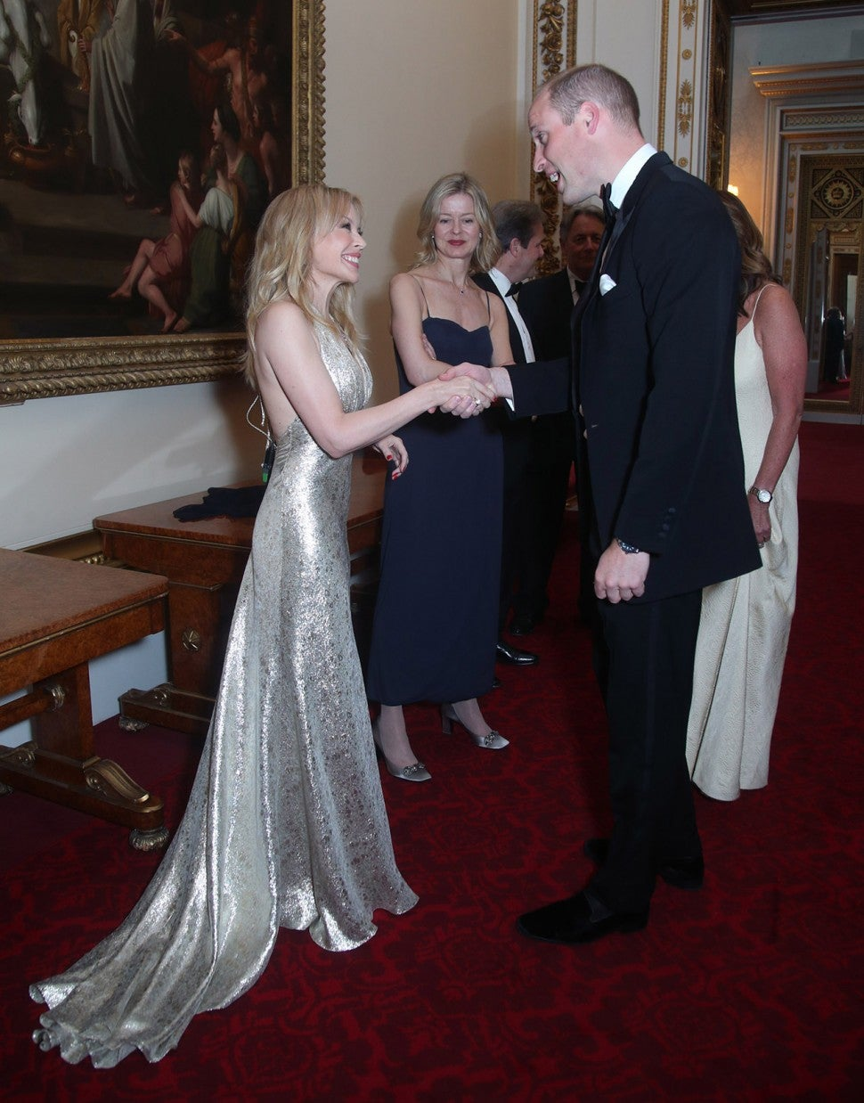 Kylie Minogue and Prince William