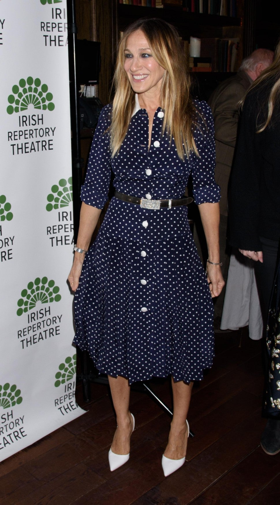 Sarah Jessica Parker Alessandra Rich dress