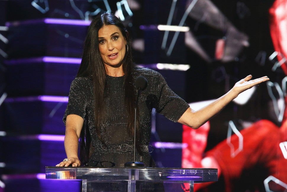 Demi Moore at The Roast of Bruce Willis 2018