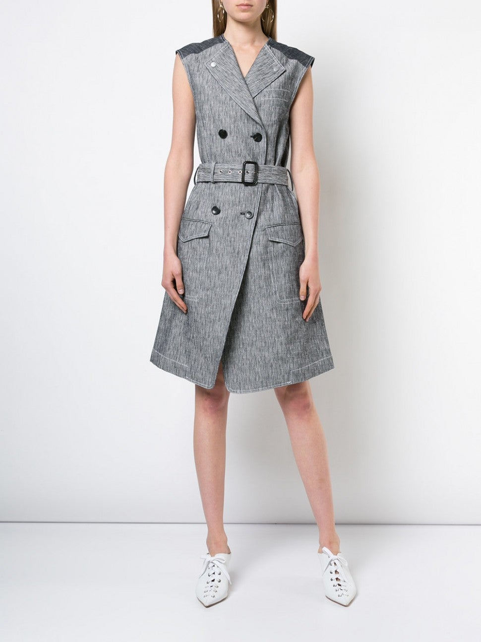 Derek Lam trench dress