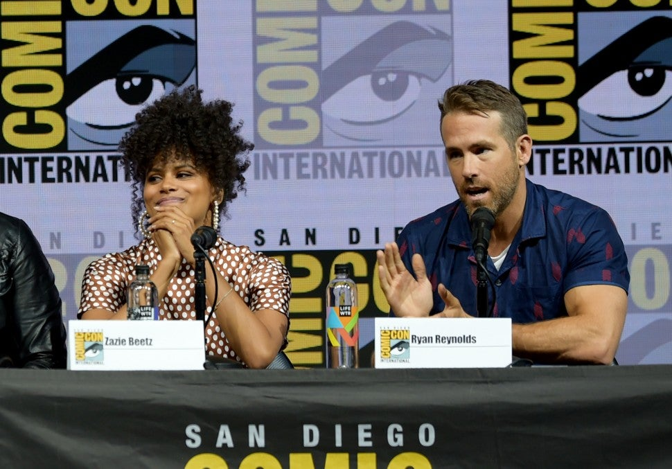 Deadpool 2 Comic-Con 2018 panel