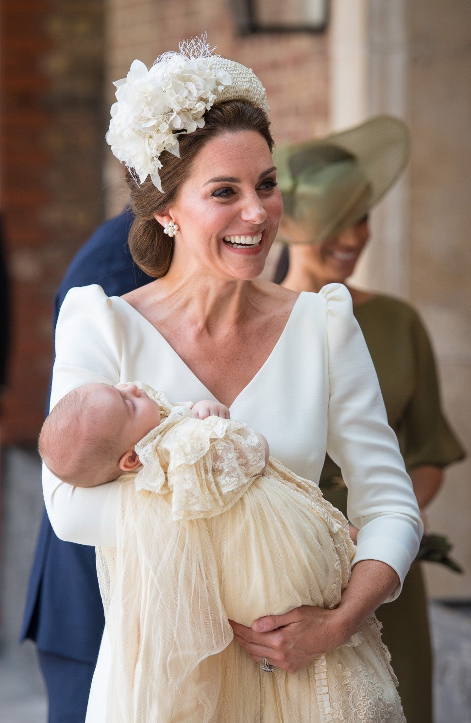 Kate Middleton and Prince Louis